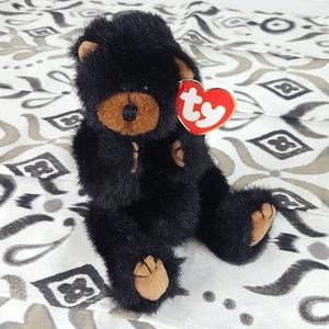 Ty Attic Treasures Ivan the Black and Brown Bear